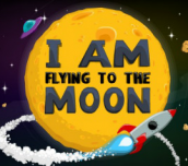 Hra Flying to the Moon