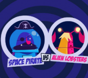Hra Space pirate vs Alien