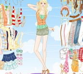 Hra Fashion Barbie Dress Up